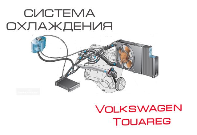 Ремонт и замена радиатора на Фольксваген Touareg II своими руками