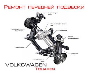 Ремонт подвески на Фольксваген Touareg своими руками