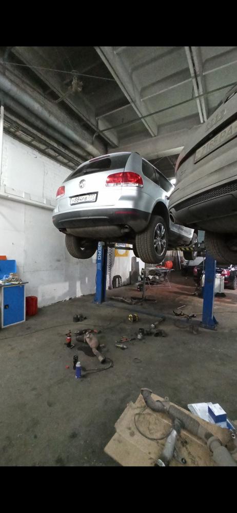 Ремонт и замена катализатора на Фольксваген Туарег(Volkswagen Touareg) своими руками